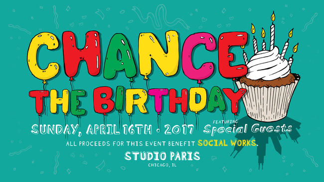 Chance the rapper is having a birthday party and youre invited chance the birthday filmwisefo