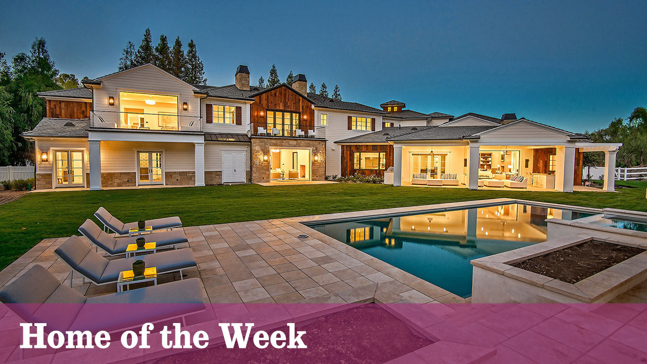Home Of The Week Hidden Hills Estate Invites You To