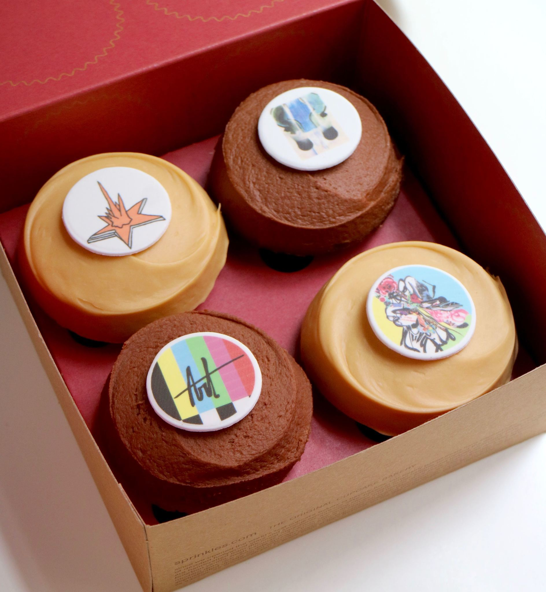 Eat Works Of Art From Sprinkles Cupcakes For World Art Day Redeye