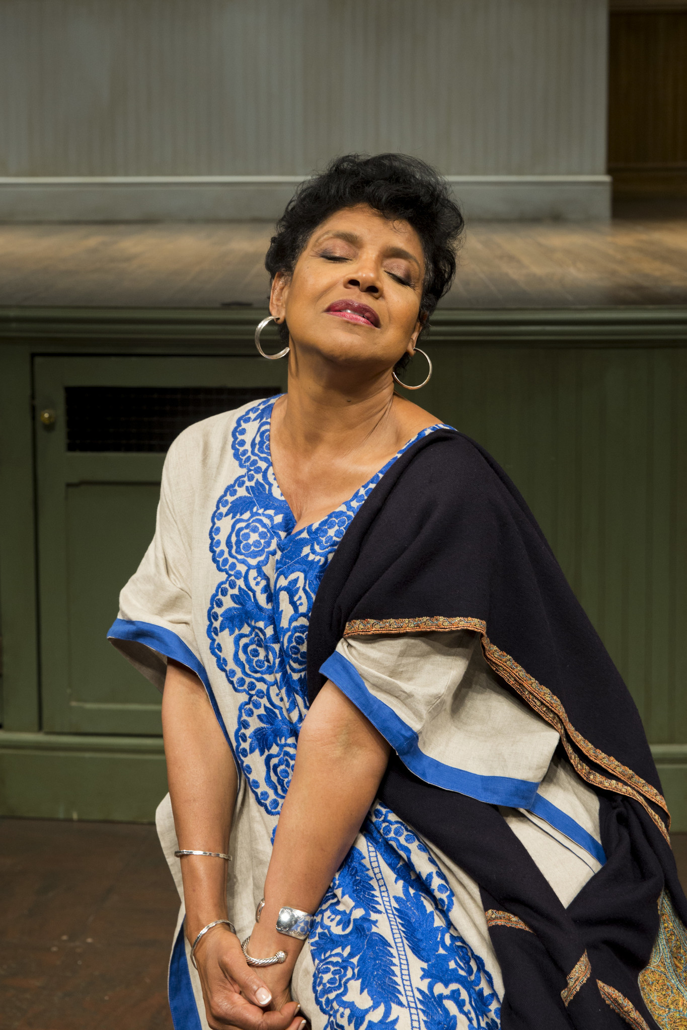 "Phylicia Rashad, director of August Wilson's ""Ma Rainey's Black Bottom,"" is photographed at the Mark Taper Forum on Aug. 25, 2016."