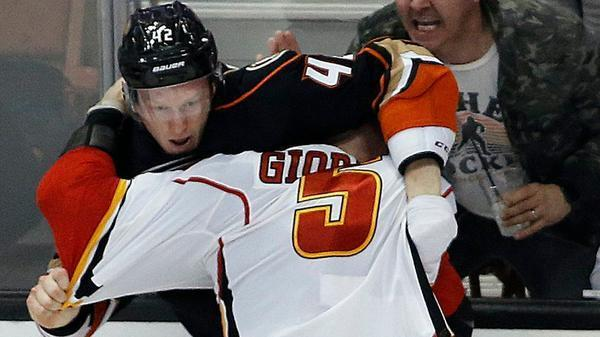 Ducks And Flames Both Preach Discipline Before Likely Brawl In Playoff Series