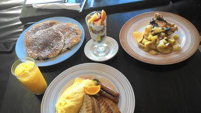 Little Cake Cafe: Simple Breakfast 'How You Like It, All Day Long'