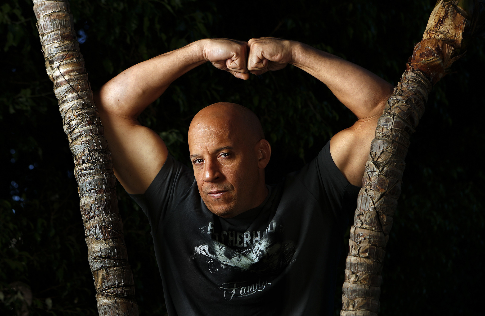 Vin diesel on fate of the furious and his feud with the rock i m a good scapegoat la times