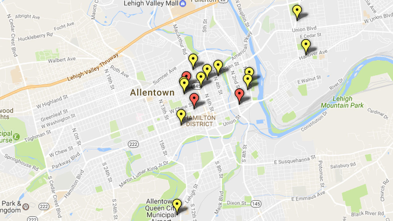 shootings in allentown the morning call