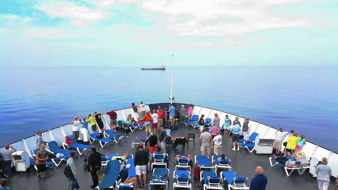 Lake Michigan ferry turns humdrum travel into unforgettable experience