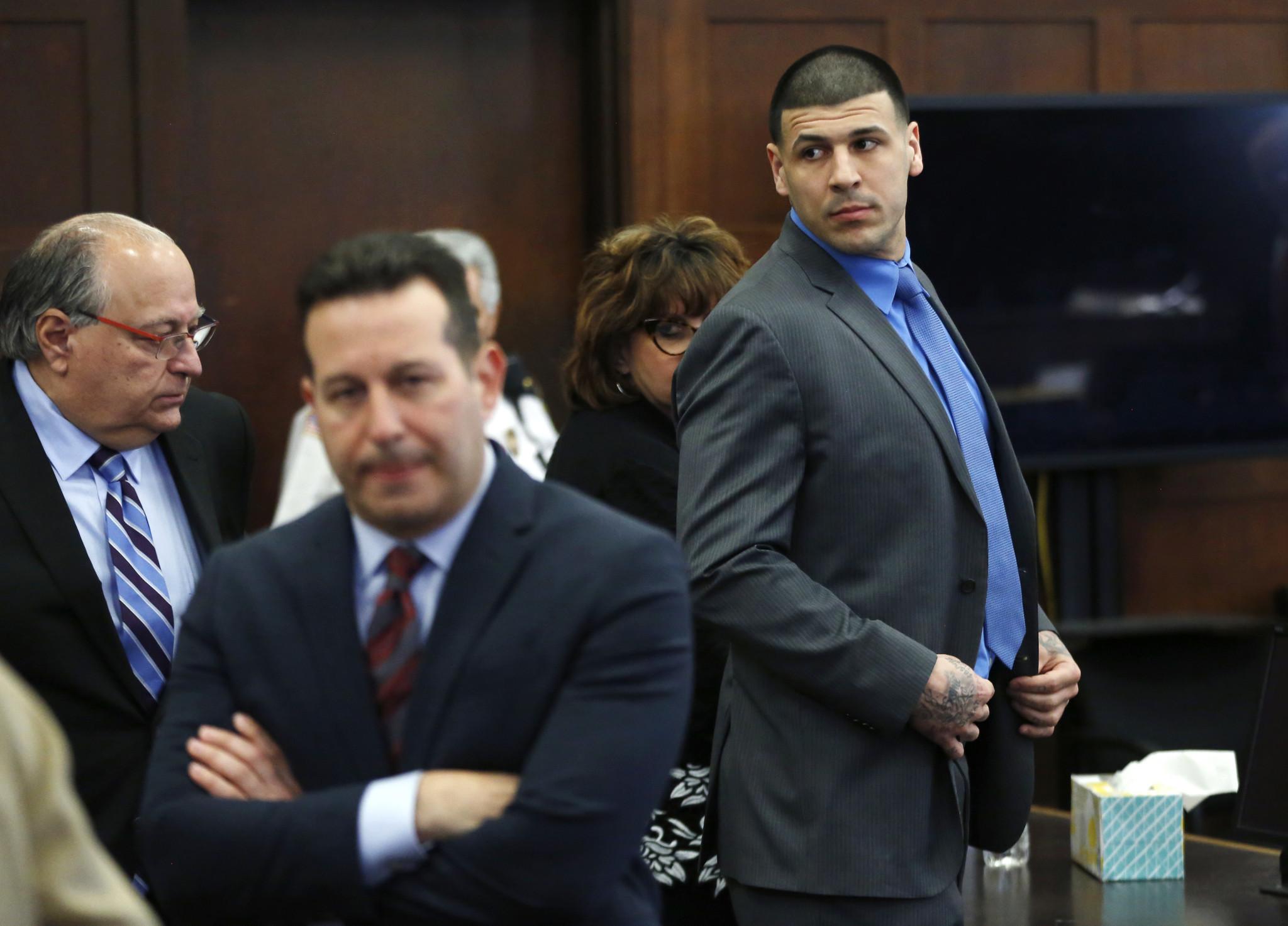 ex patriots star aaron hernandez acquitted in double murder ex patriots star aaron hernandez acquitted in double murder chicago tribune
