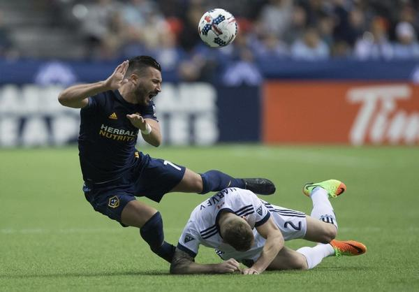 Alessandrini making himself at home with Galaxy, MLS