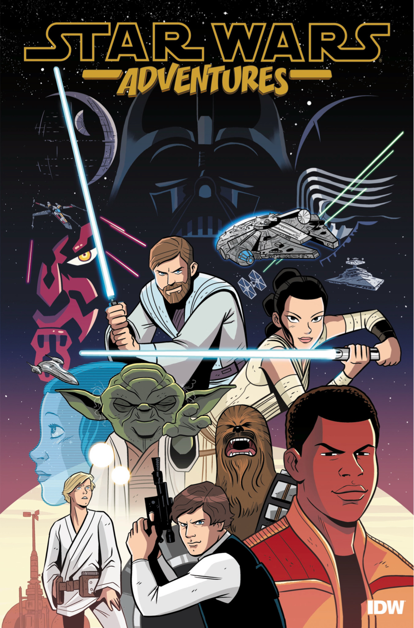 'Star Wars Adventures' teaser image.