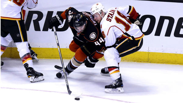 Depth, 'lucky Bounces' Help Ducks Take 2-0 Series Lead