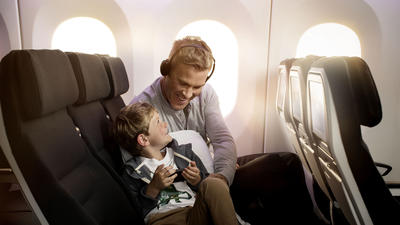 Some airlines go above and beyond to accommodate kids on long flights