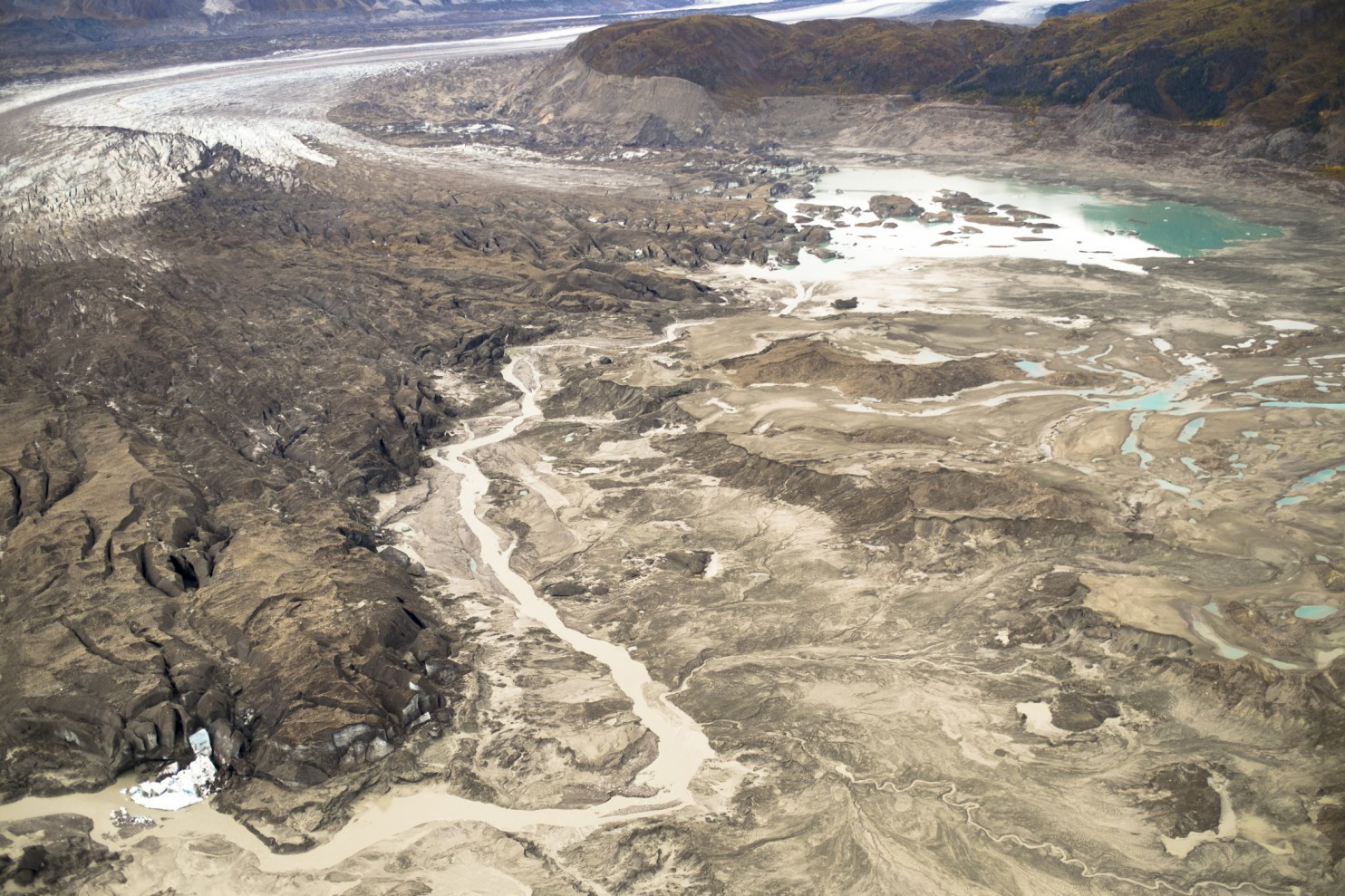 For the first time on record, human-caused climate change has rerouted an entire river
