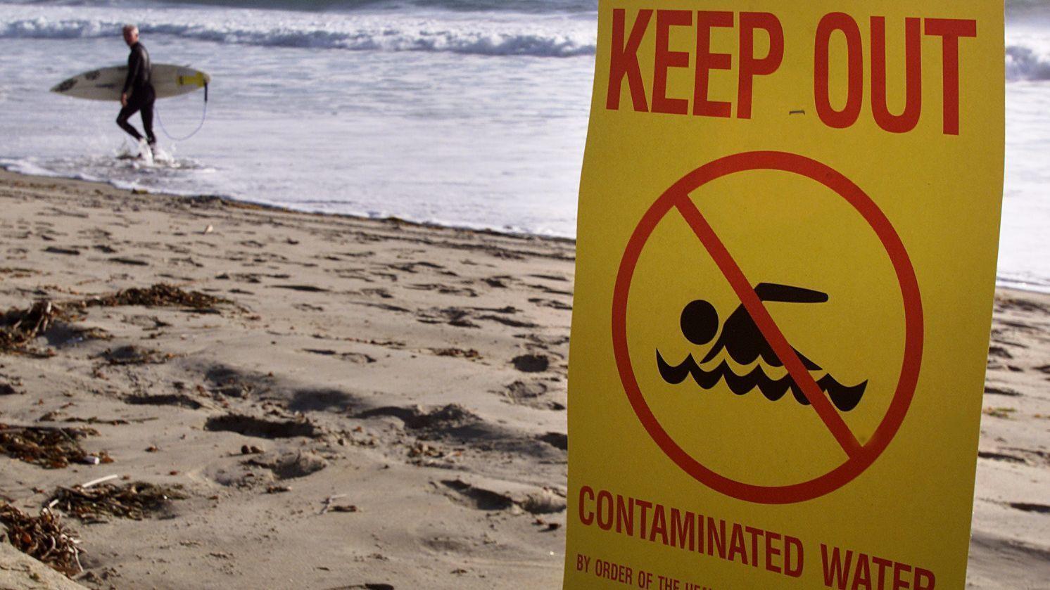 Sewage Spill Laguna Beach