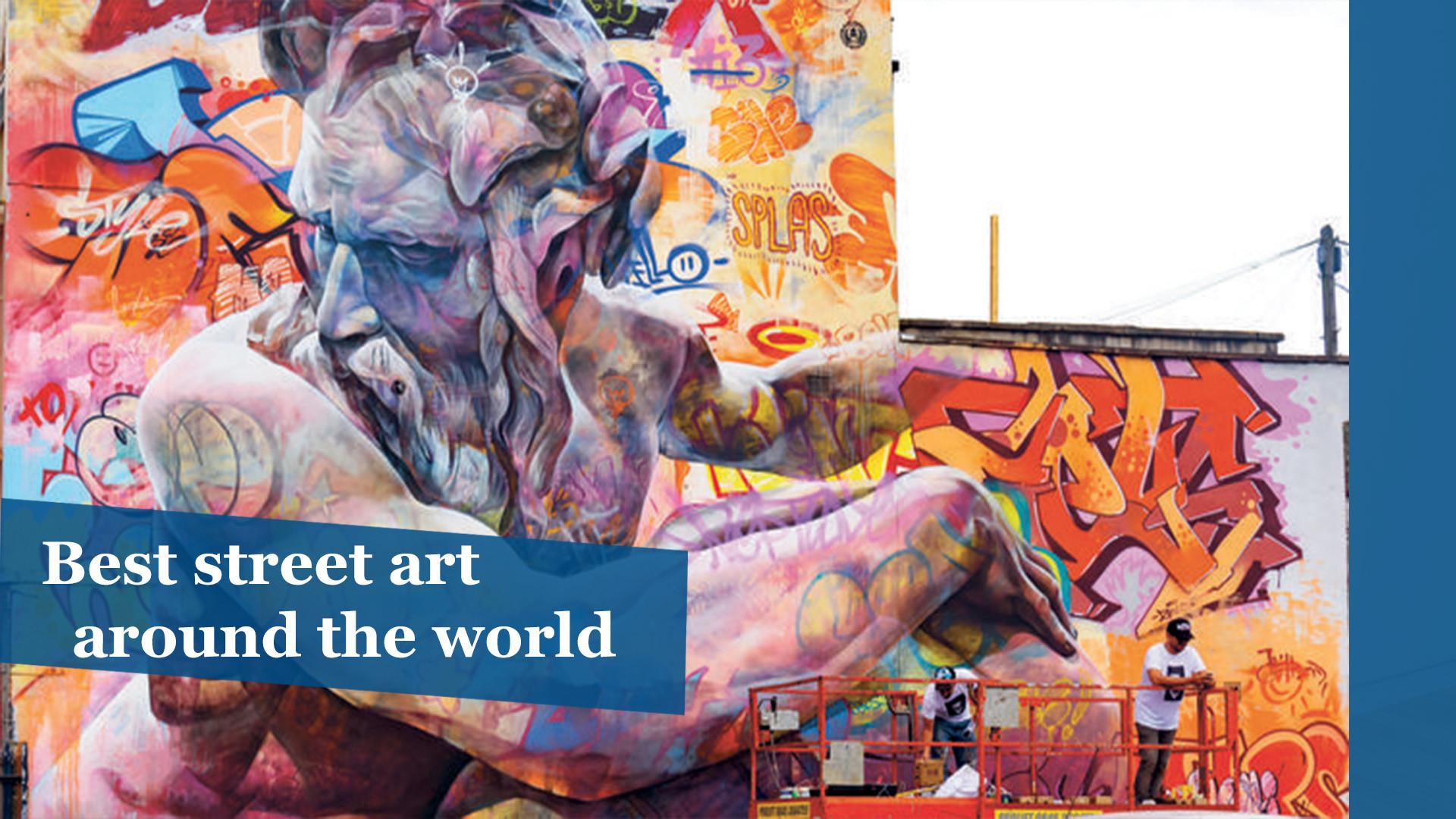 Photos best street art around the world orlando sentinel for Art from around the world