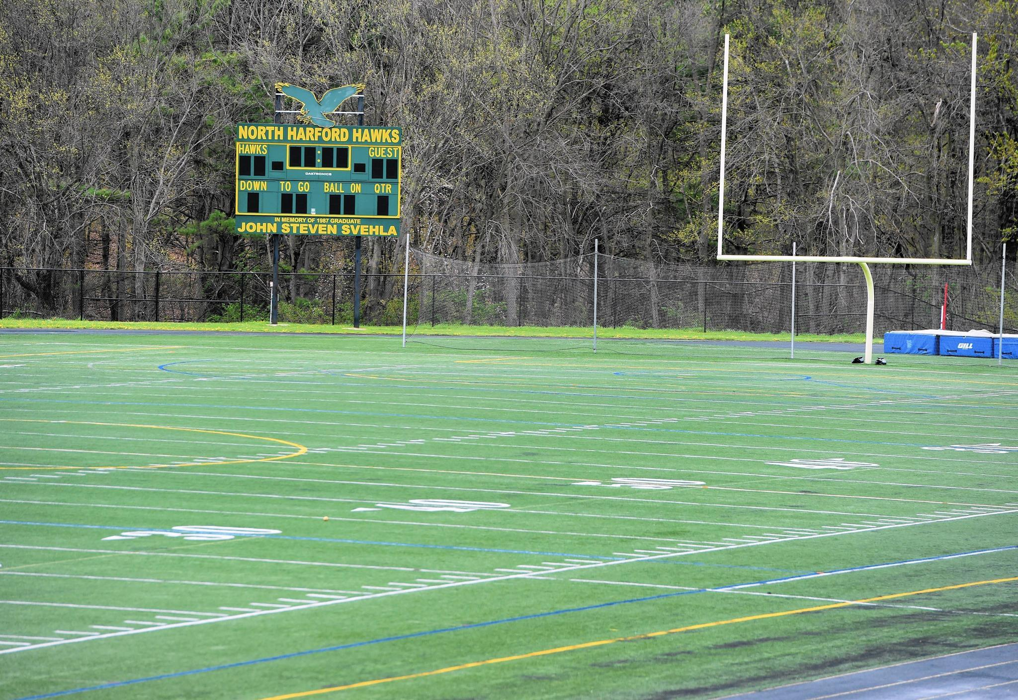 Unsafe to play on North Harford High artificial turf field to be