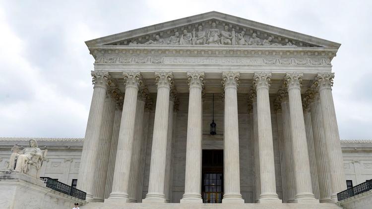 The U.S. Supreme Court building in Washington. (Susan Walsh / Associated Press)