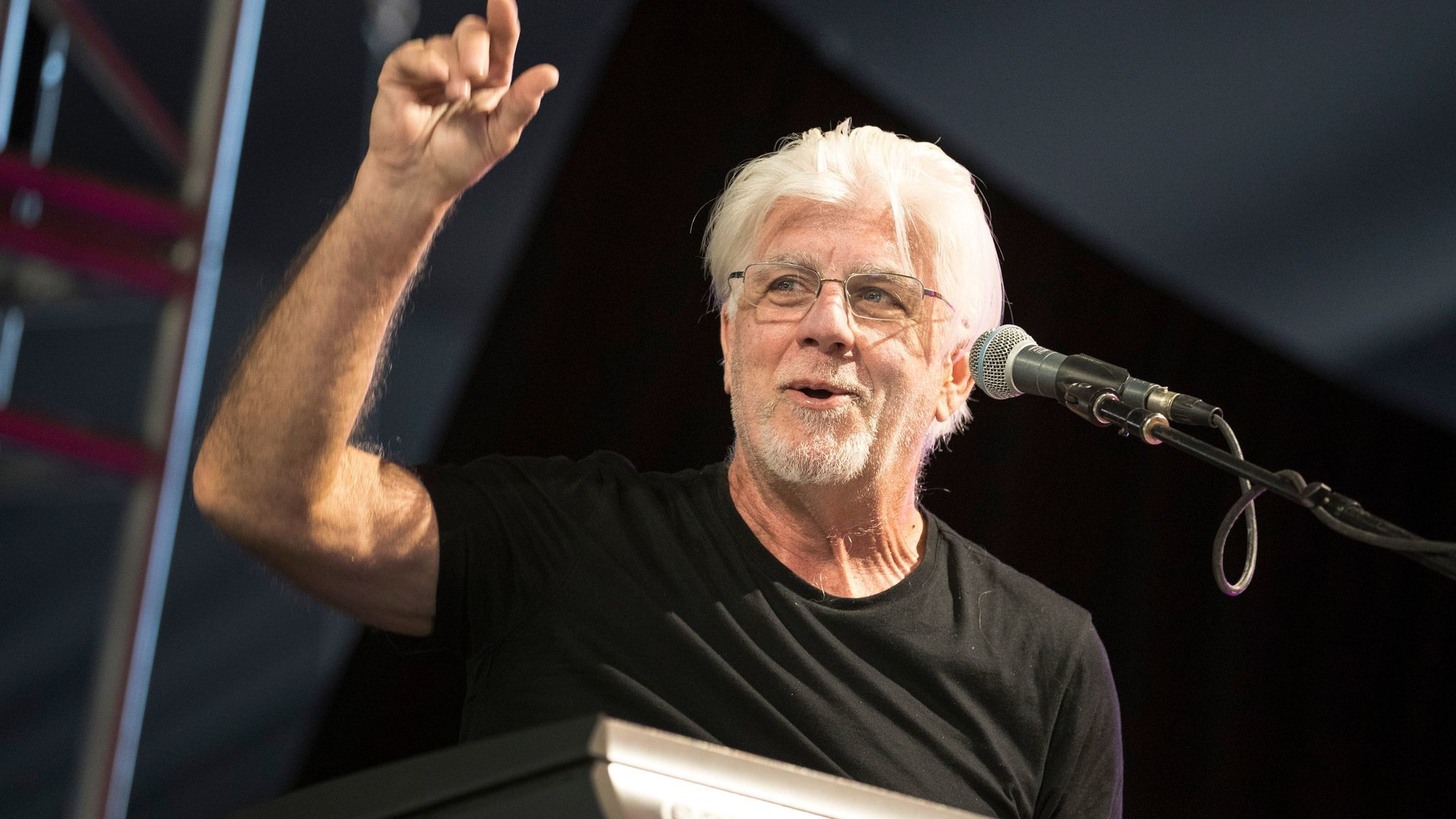 Michael McDonald at Coachella.