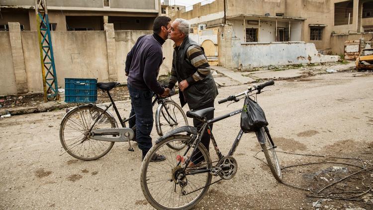 Mosul cyclists
