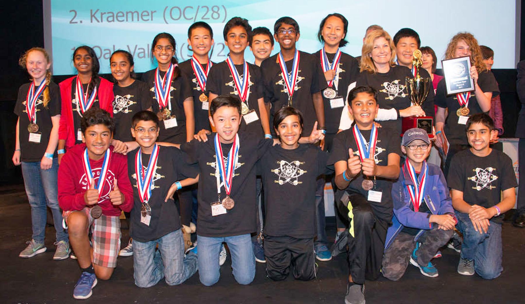 Oak Valley students headed to national Science Olympiad - Pomerado News