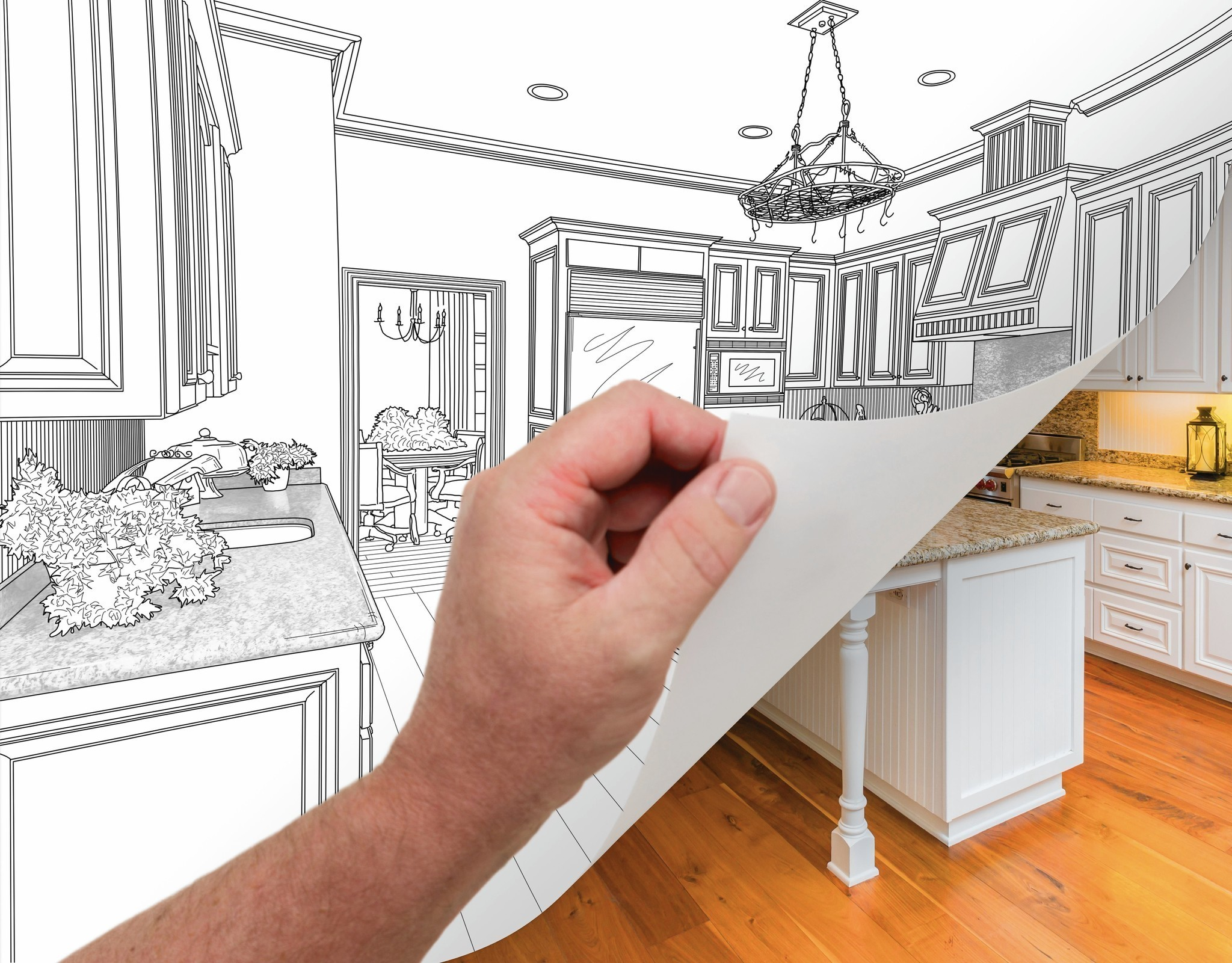 Where to save where to splurge in kitchen remodel for Kitchen renovation return on investment
