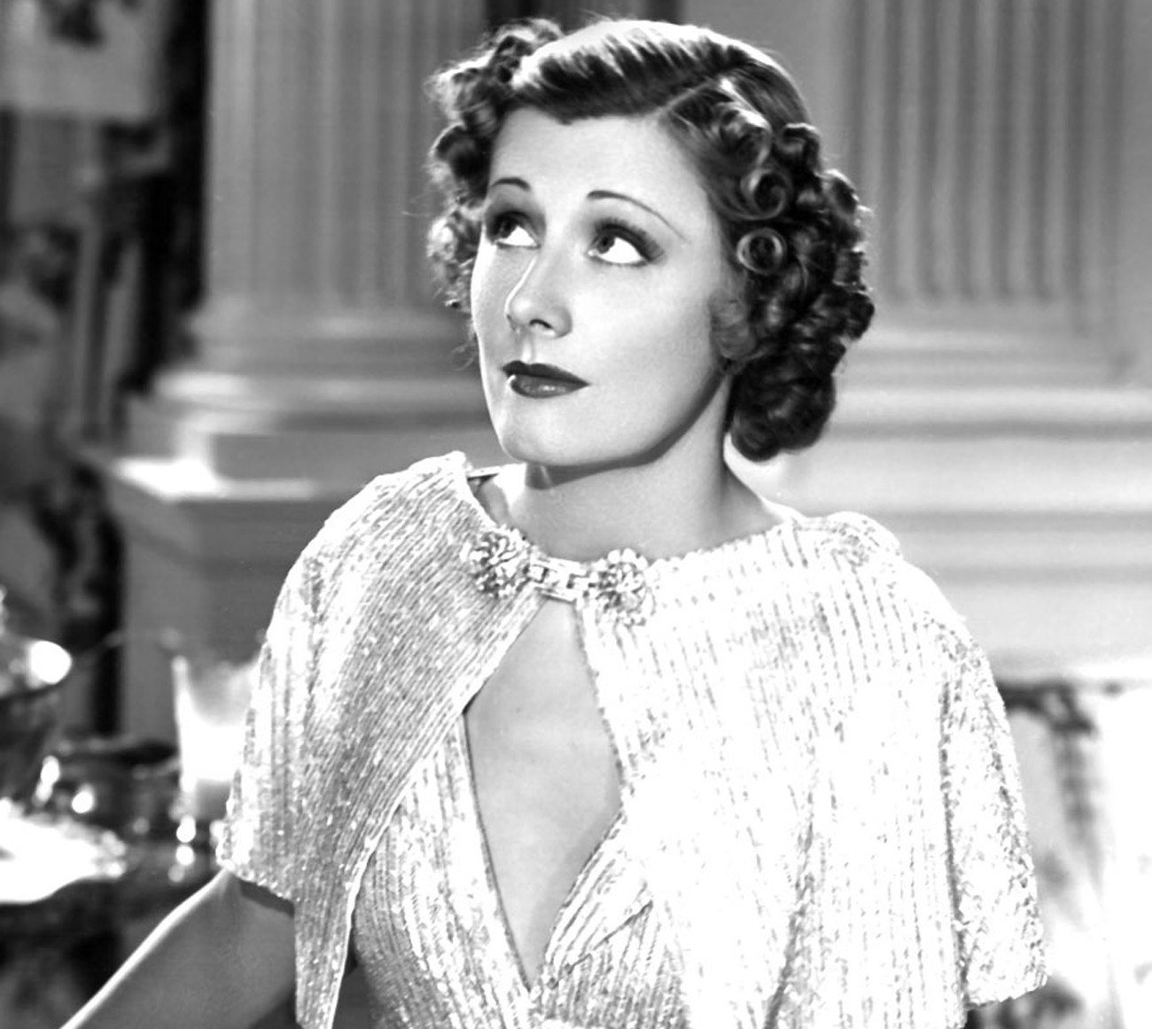 "Irene Dunne in ""The Awful Truth."""