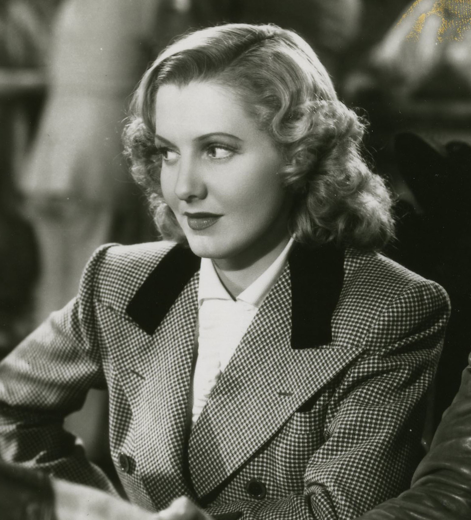 "Jean Arthur in ""Only Angels Have Wings."""
