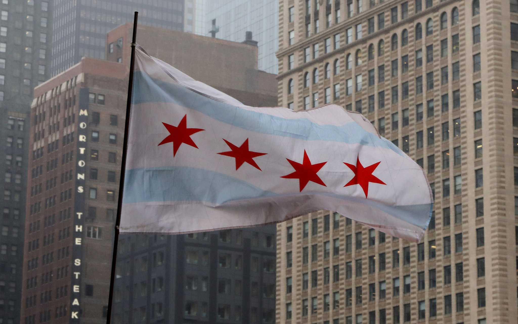 How Chicago S Flag Came To Be Chicago Tribune