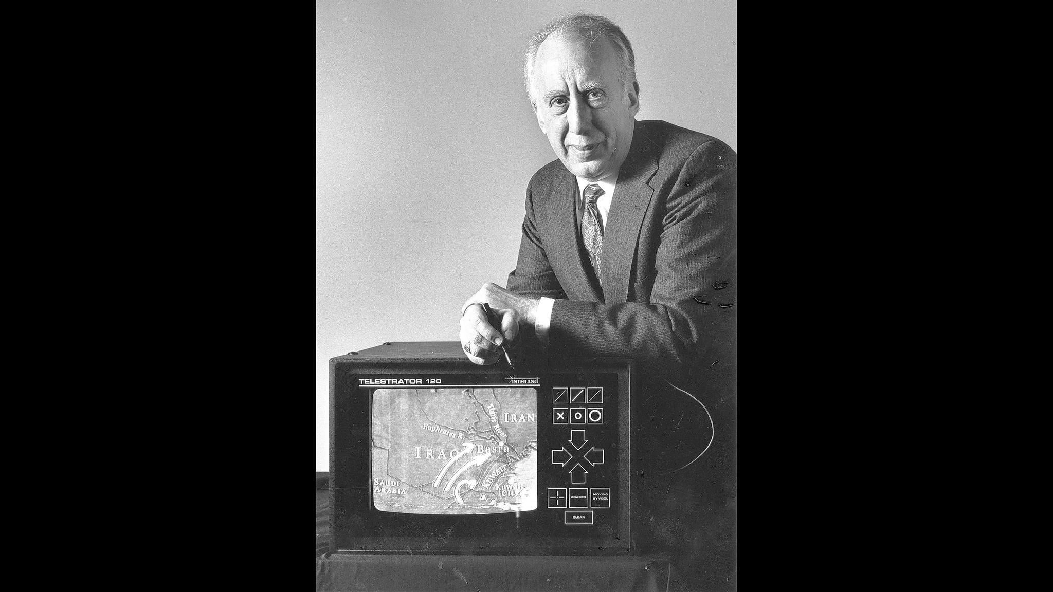 Leonard Reiffel  inventor of telestrator used to show NFL