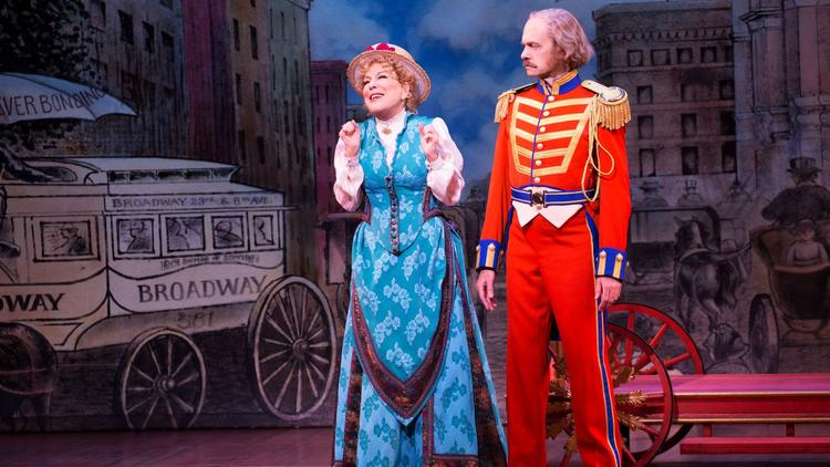 Midler and David Hyde Pierce: Two pros at the top of their game.