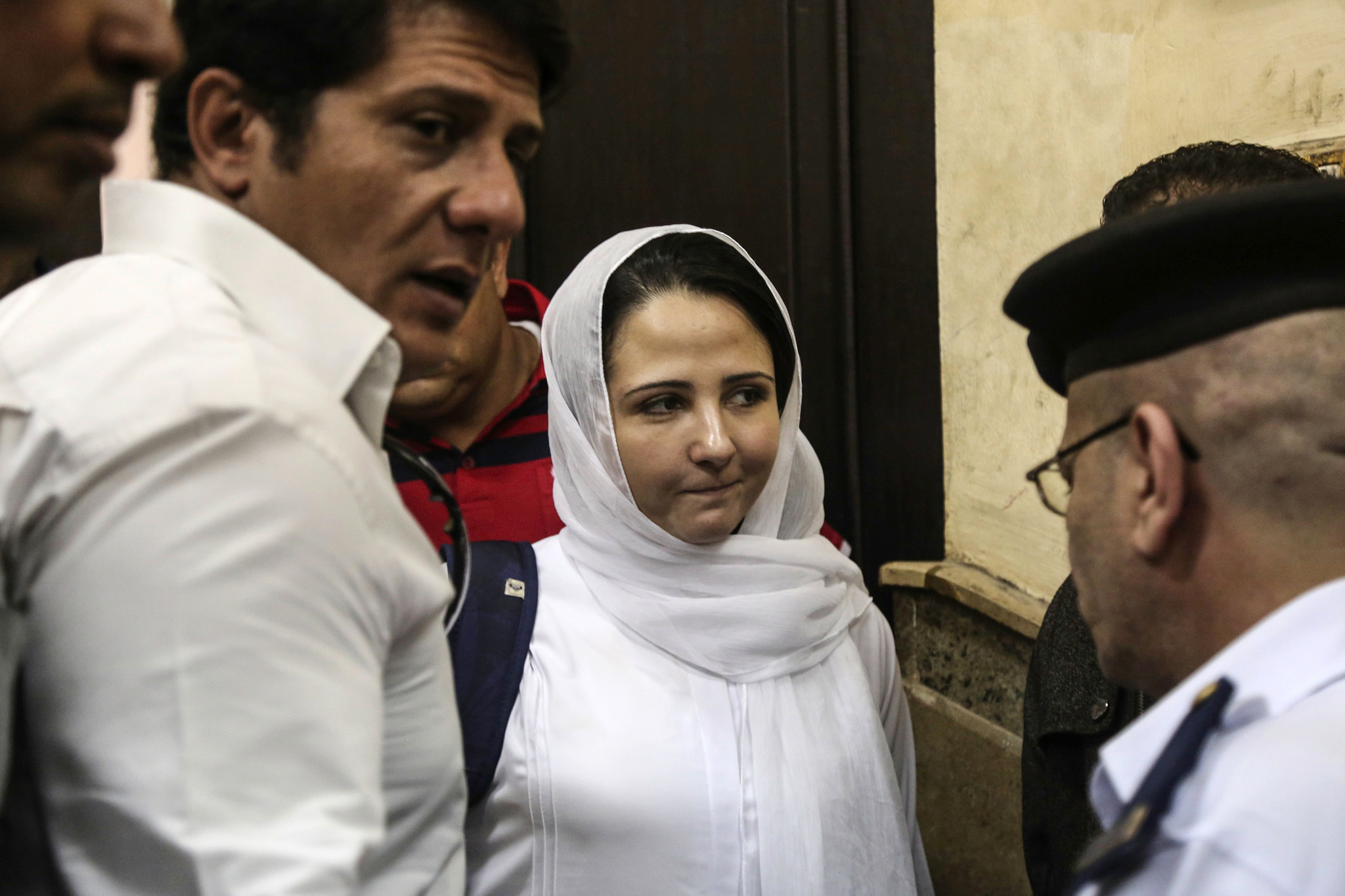 Woman imprisoned in Egypt for 3 years lands in U.S. after Trump intervention