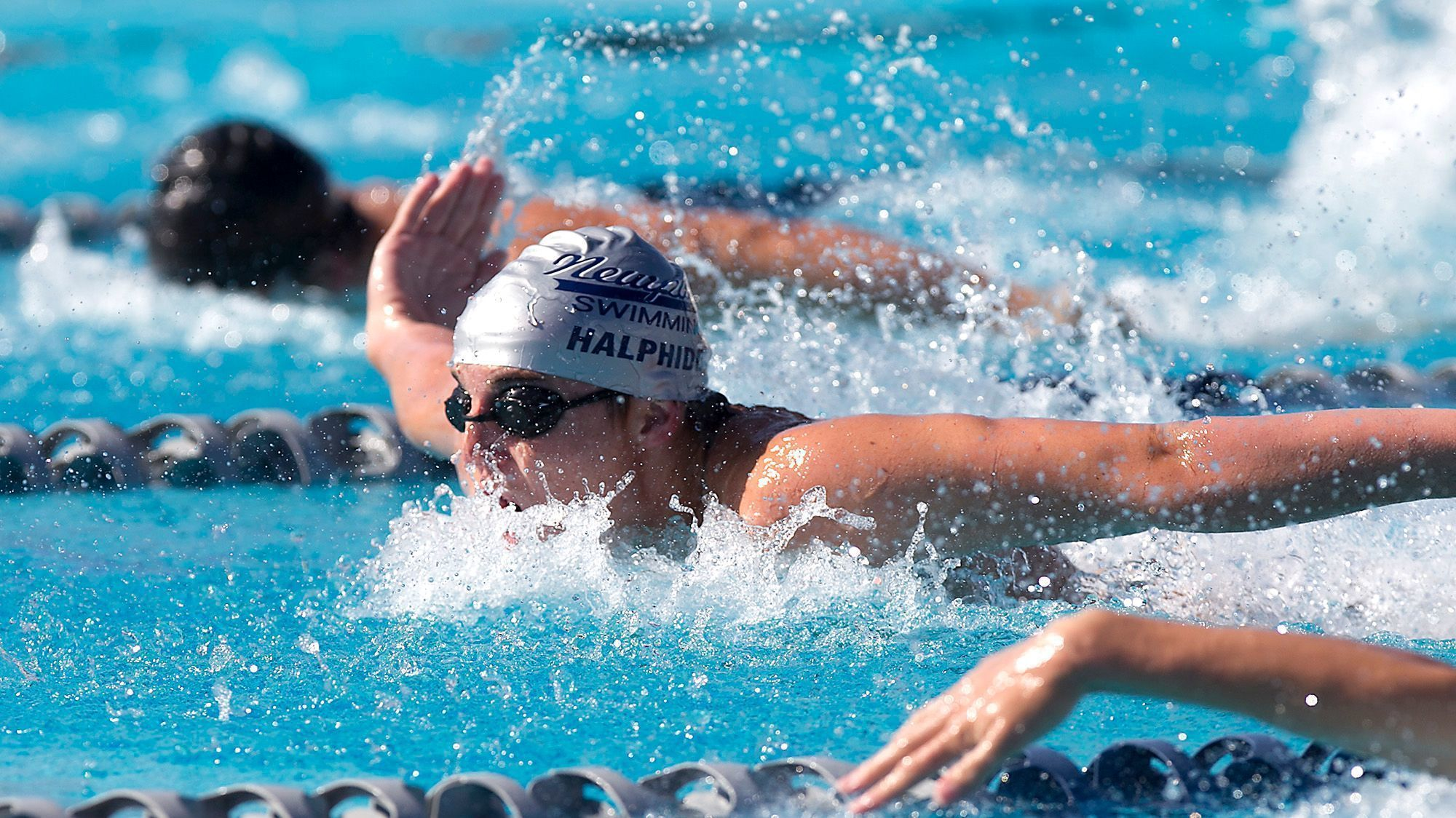 Swimming Newport Harbor Sweeps Battle Daily Pilot