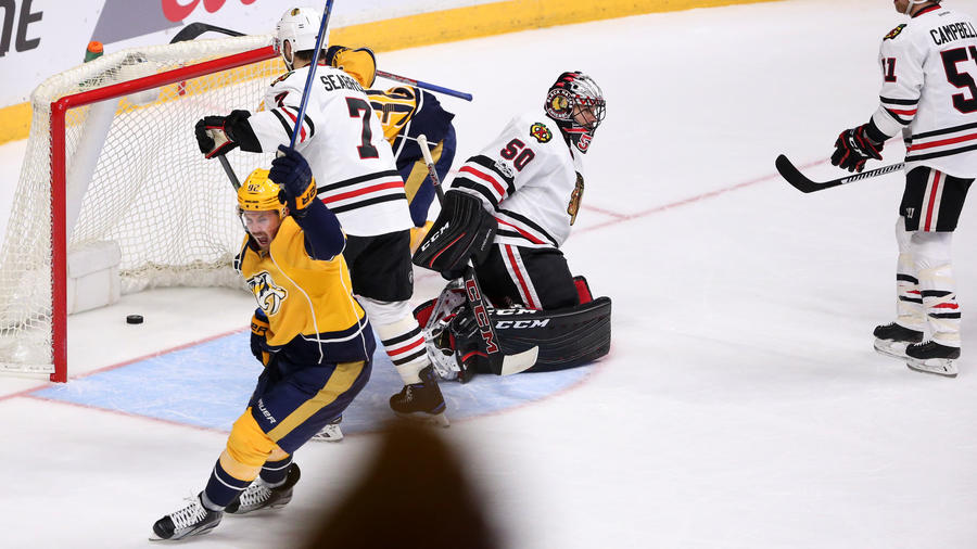Blackhawks Eliminated By Predators In 4-1 Loss, Swept Out Of NHL Playoffs
