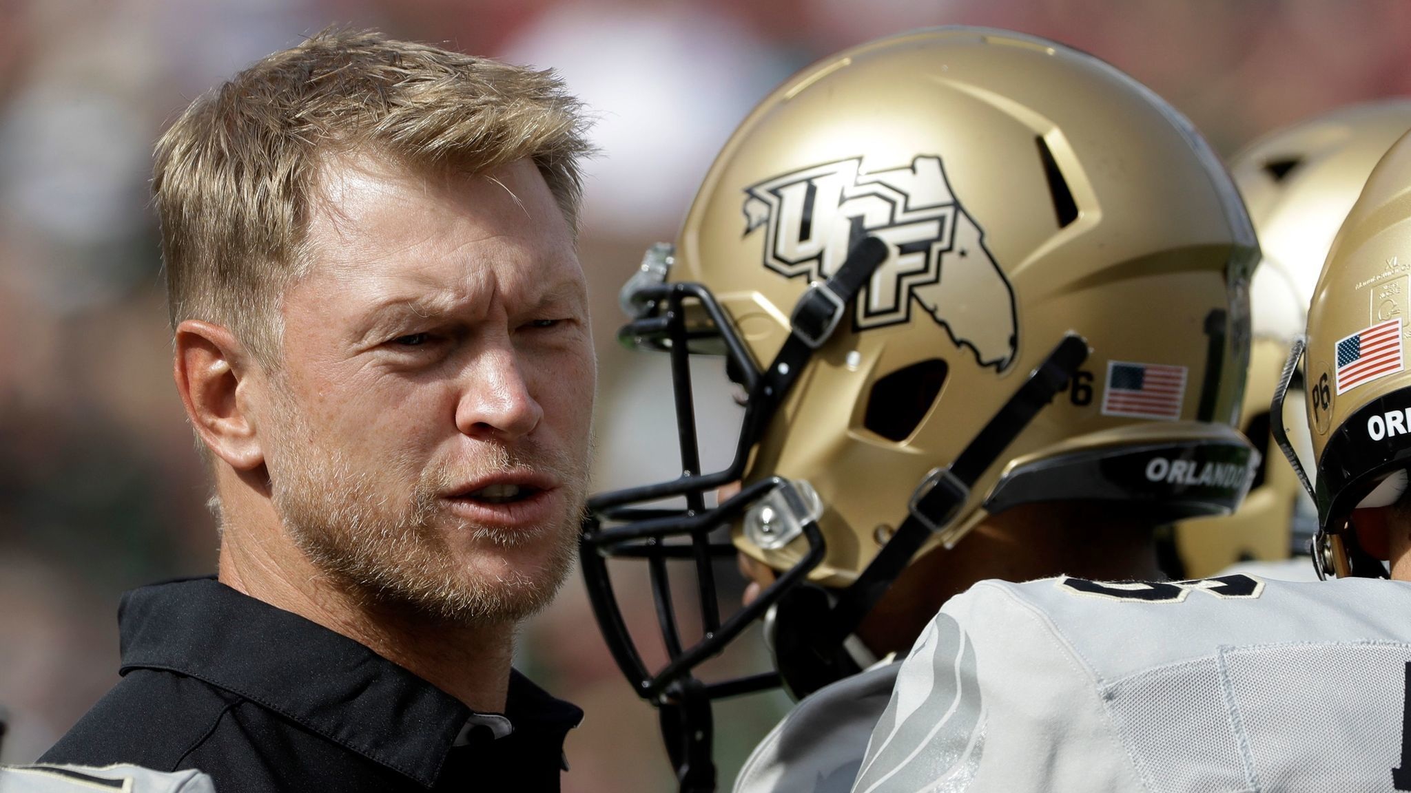 Scott Frost Usf >> UCF coach Scott Frost has a message for Charlie Strong, Lane Kiffin and Butch Davis - LA Times