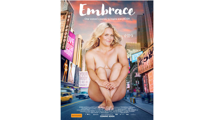 """Embrace,"" the movie poster."