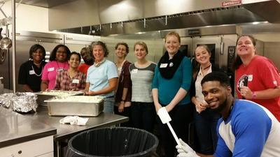 Volunteers at Hampton SAME soup kitchen feed those in need weekly