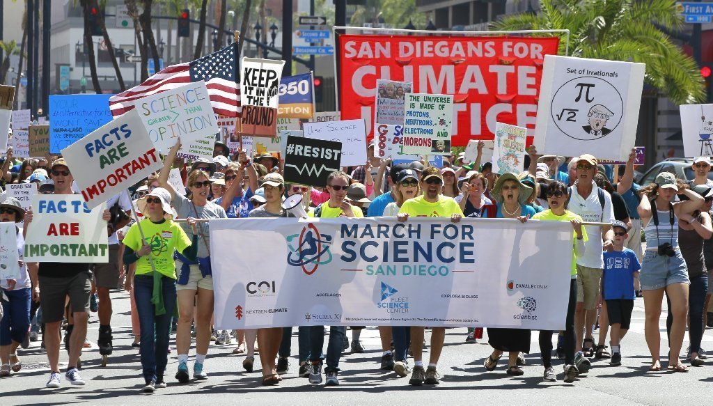 Image result for images of science marches