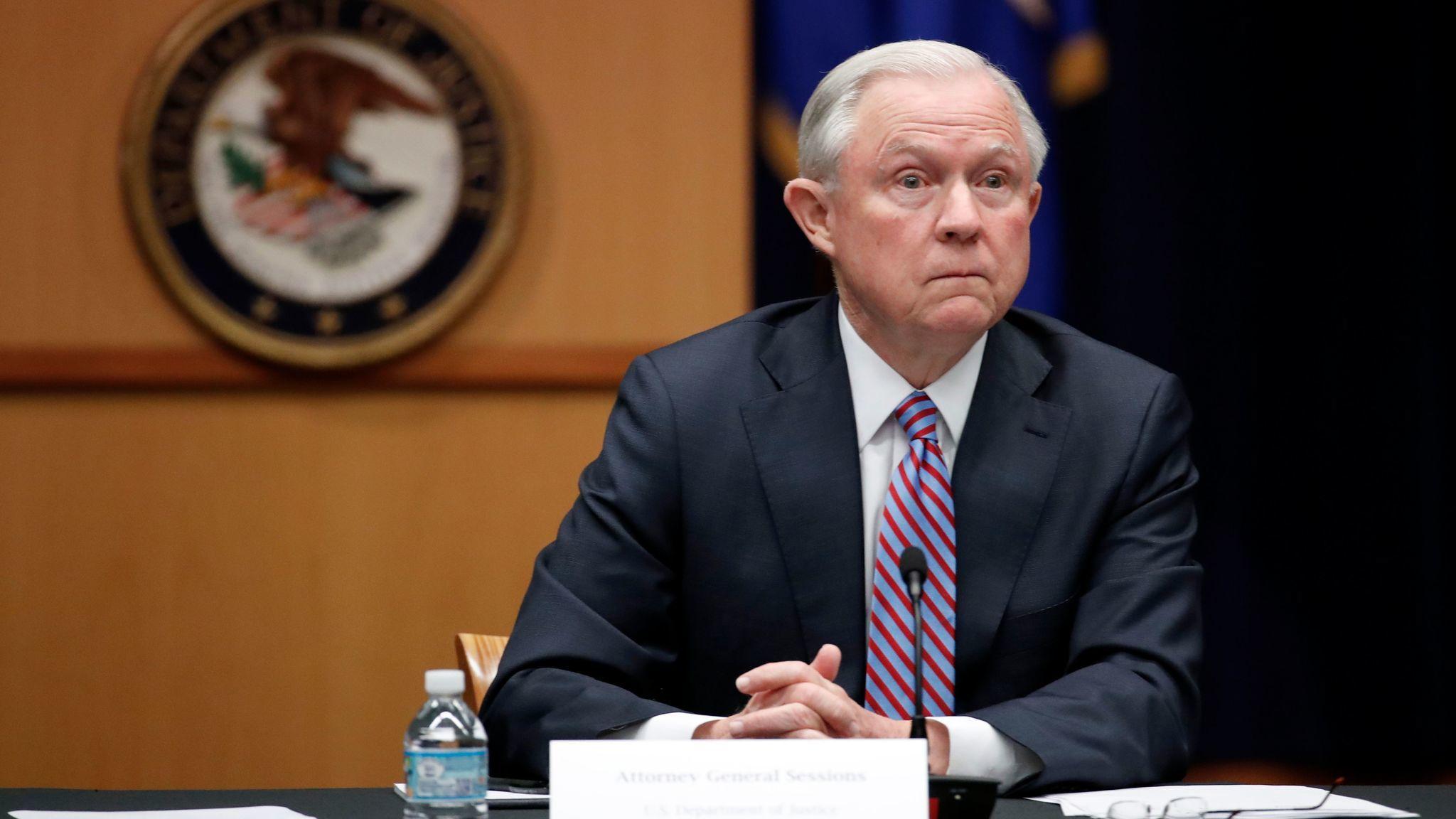 Sessions orders return to tough drug war policies that trigger mandatory minimum sentences