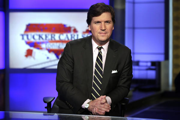 Carlson leads in ratings in first night post-O'Reilly
