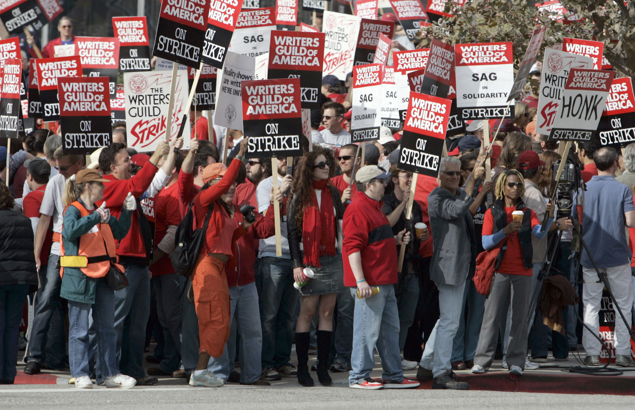 Writers Guild of America members authorize strike as contract