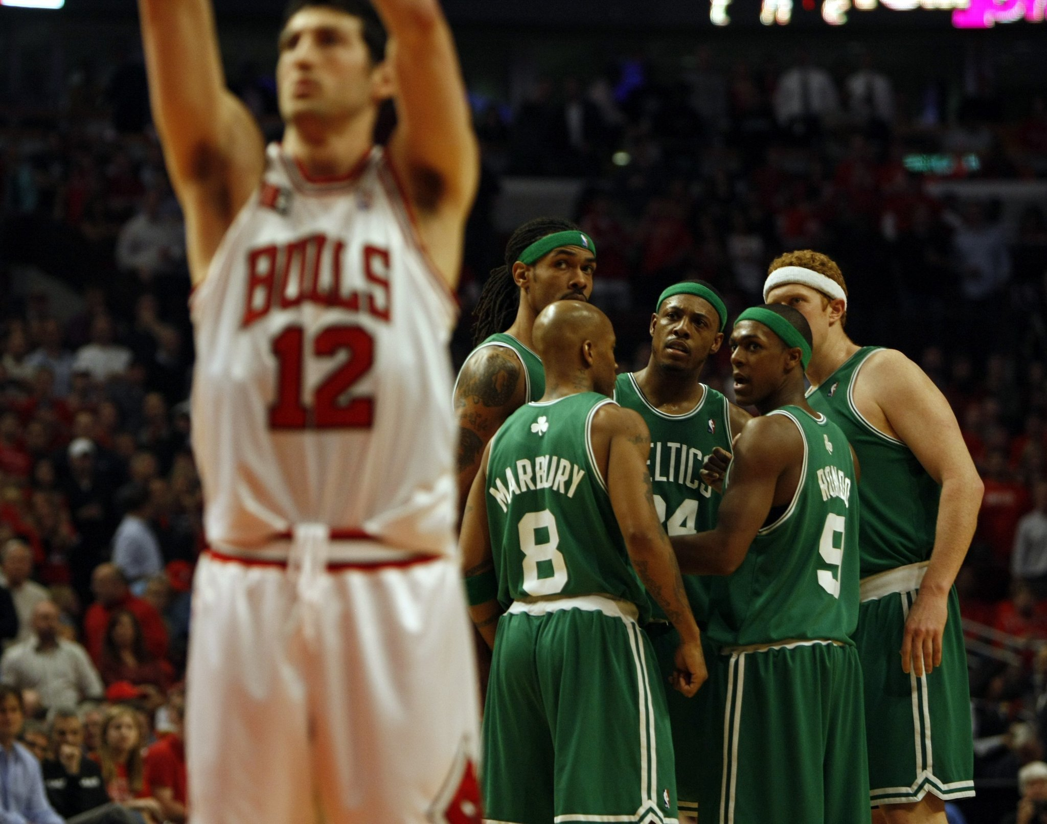 7 games. 4 OTs. A look back at memorable 2009 Bulls-Celtics series.