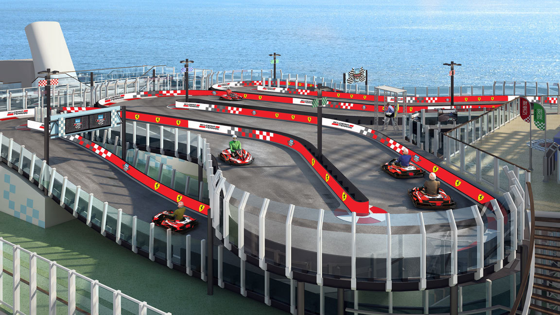 Image result for norwegian bliss race track