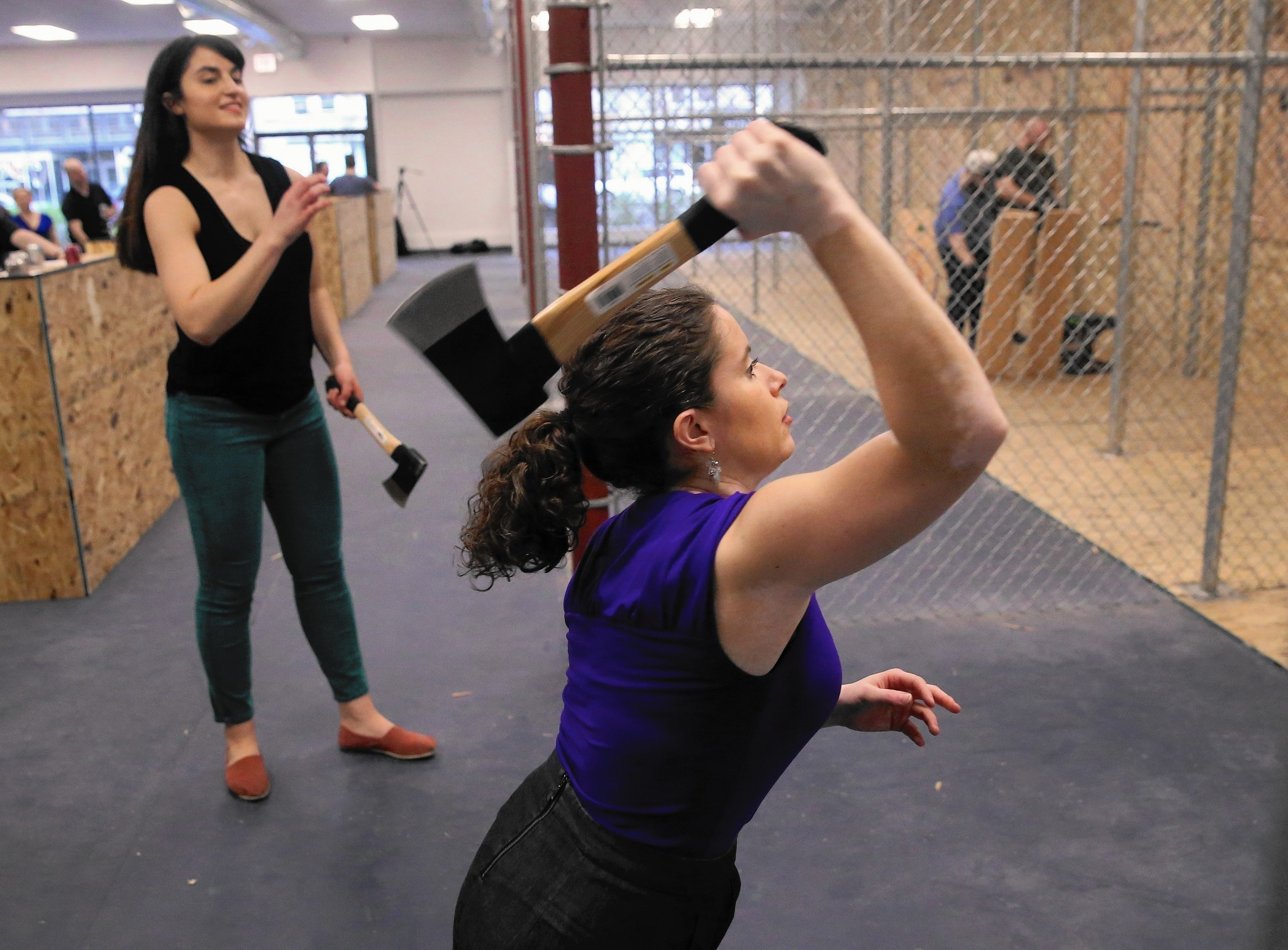 new ax throwing venue open in chicago chicago tribune