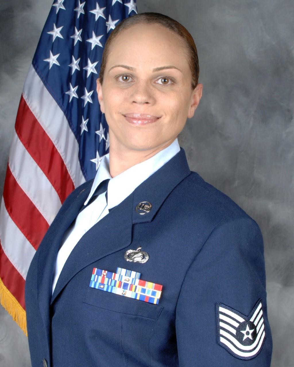 Air Force veteran Aja Smith None