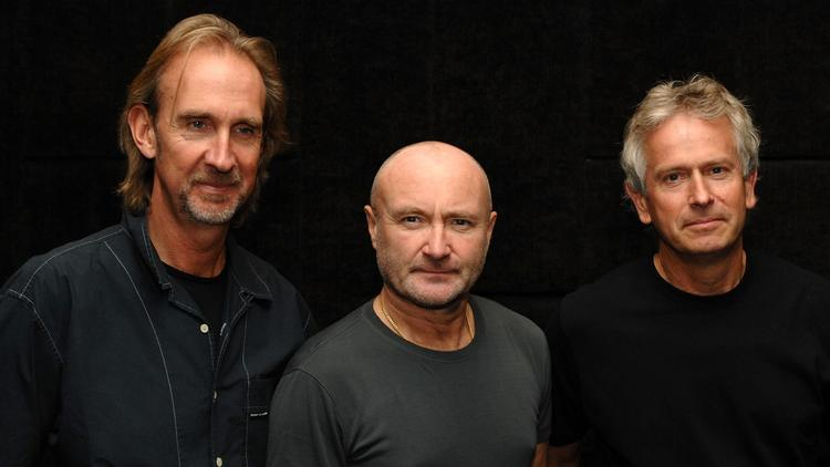 Mike Rutherford, left, Phil Collins and Tony Banks of Genesis in 2007. (Darryl James / Getty Images)
