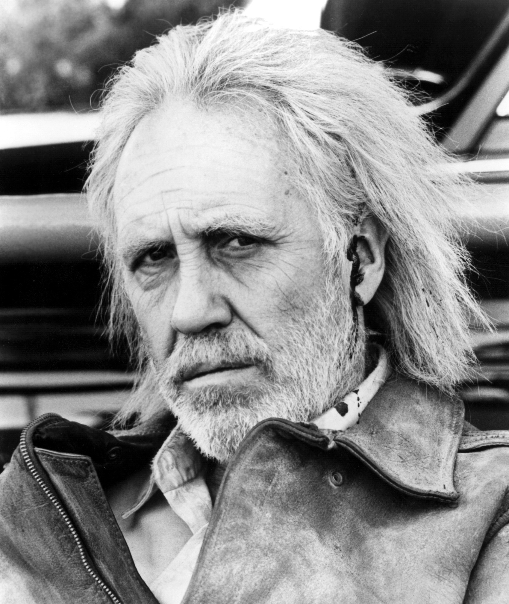 "Jason Robards as Howard Hughes in ""Melvin and Howard"""