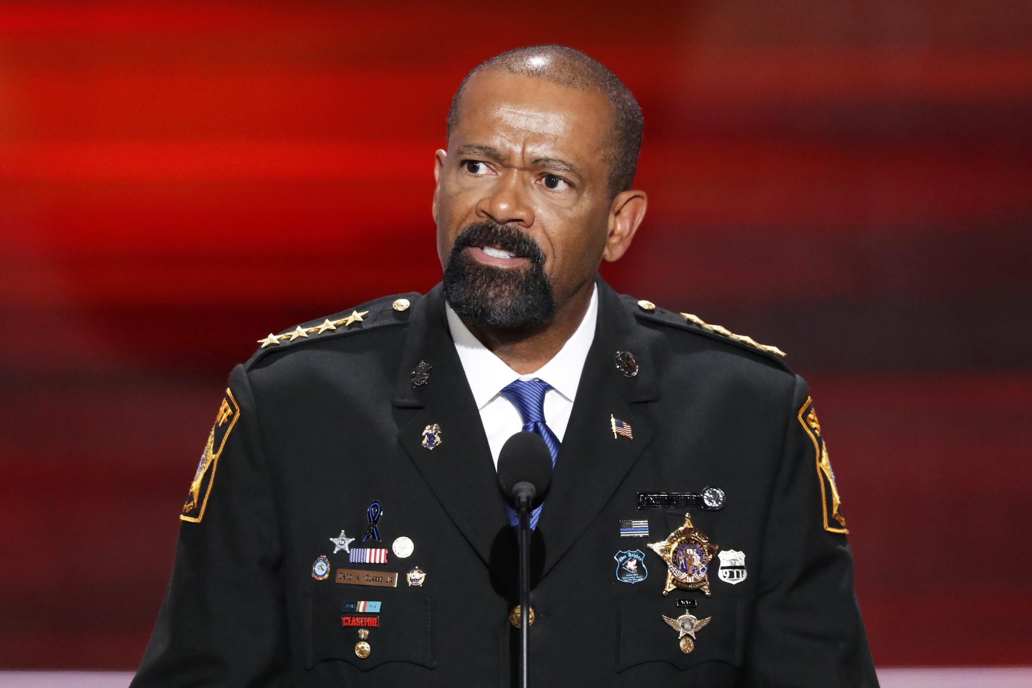 Wisconsin Gov. Walker: Won't remove Sheriff David Clarke over jail dehydration death
