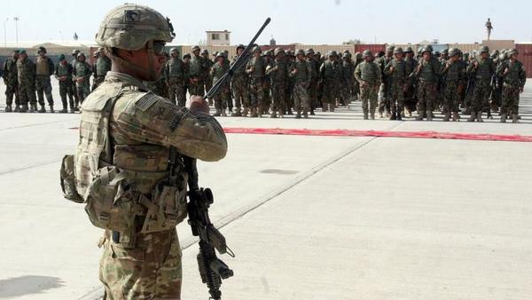 Two U.S. troops killed in Afghanistan, near where massive bomb was dropped