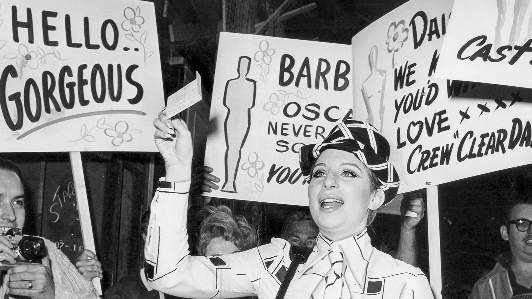 From the Archives: Celebrating Barbra Streisand's Oscar win