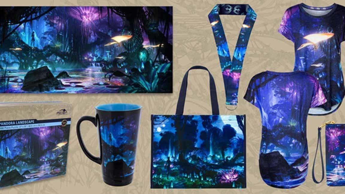 Disney reveals merchandise for Pandora - The World of ...