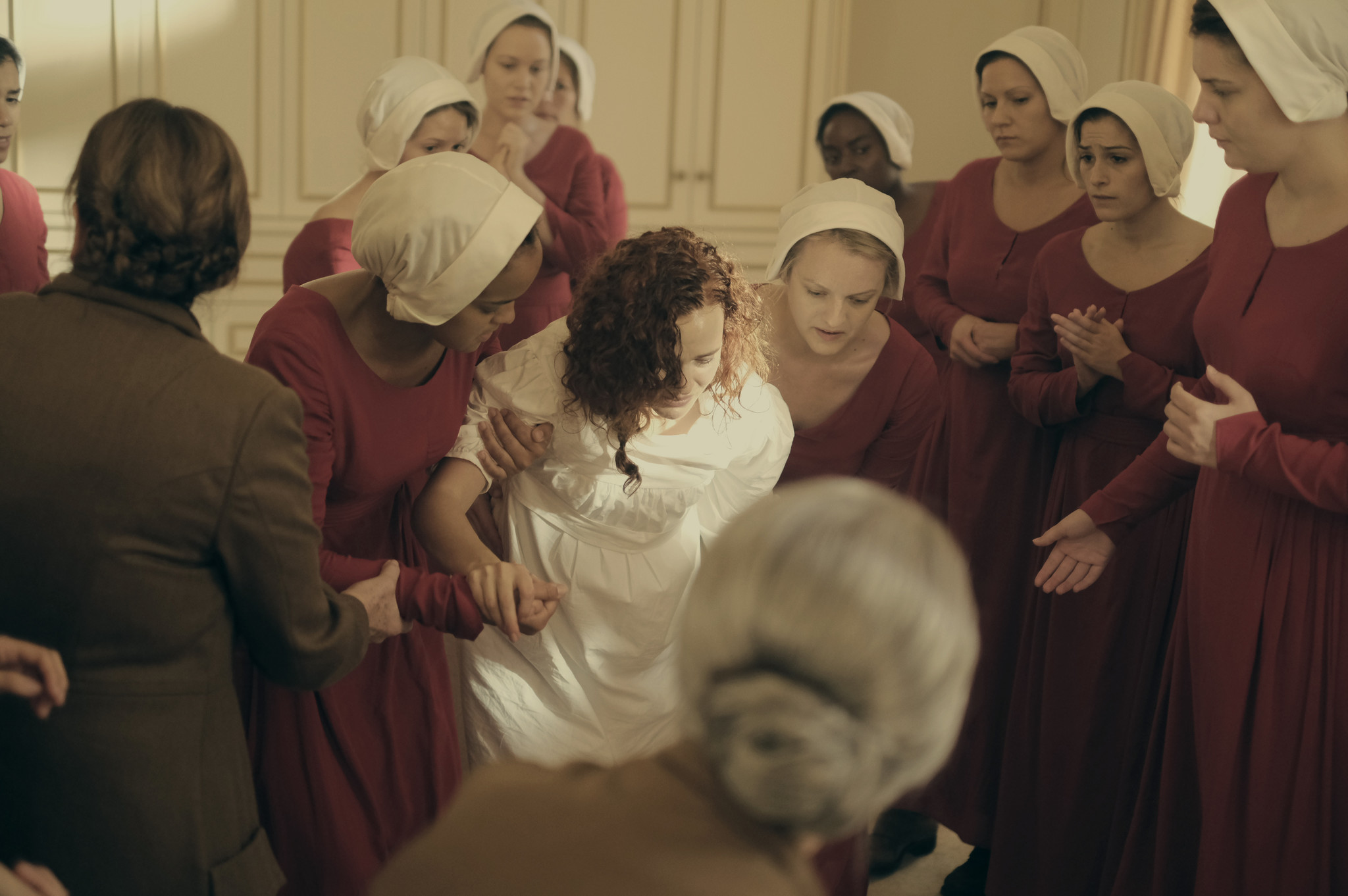 the handmaid s tale episode 2 recap birth day parties and scrabble games baltimore sun