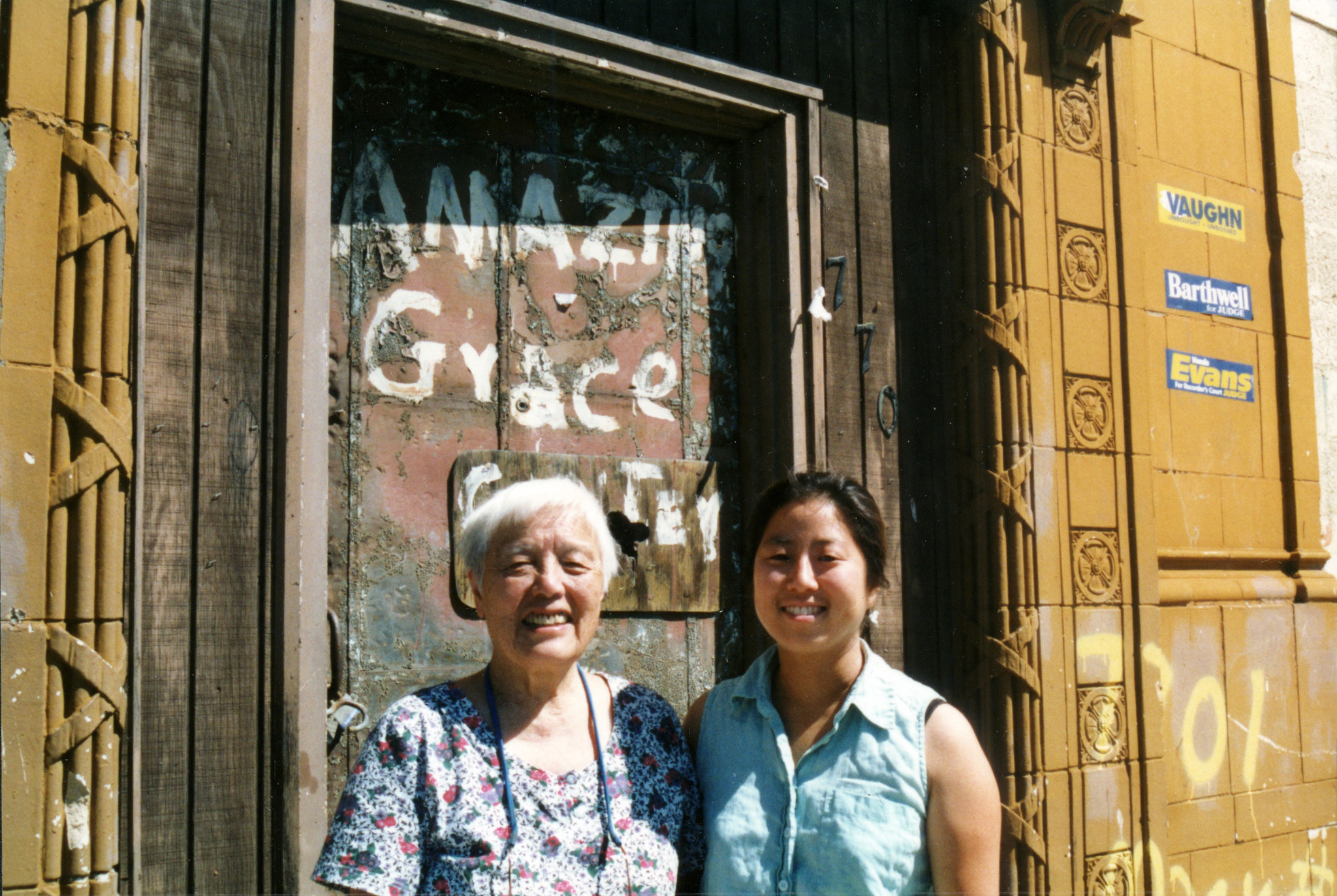 "Filmmaker Grace Lee, right, with activist Grace Lee Boggs in the 2005 movie ""The Grace Lee Project."""